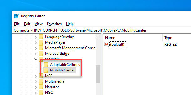 Enable-Mobility-Center-Create-Mobility-Center-Key